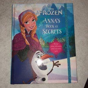 Disney Frozen Anna's Book of Secrets journal new